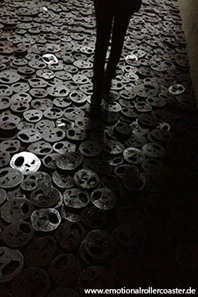 Schalechet - Gefallenes Laub - Kunstwerk im Jüdischen Museum Berlin