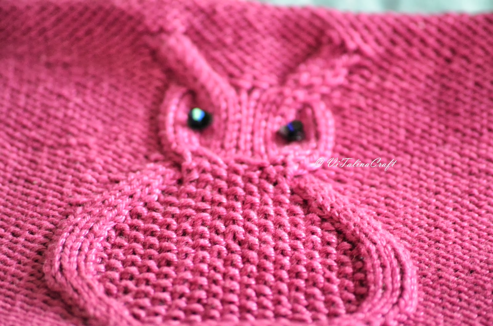 Owl Baby Hat Knitting Pattern ViTalina Craft