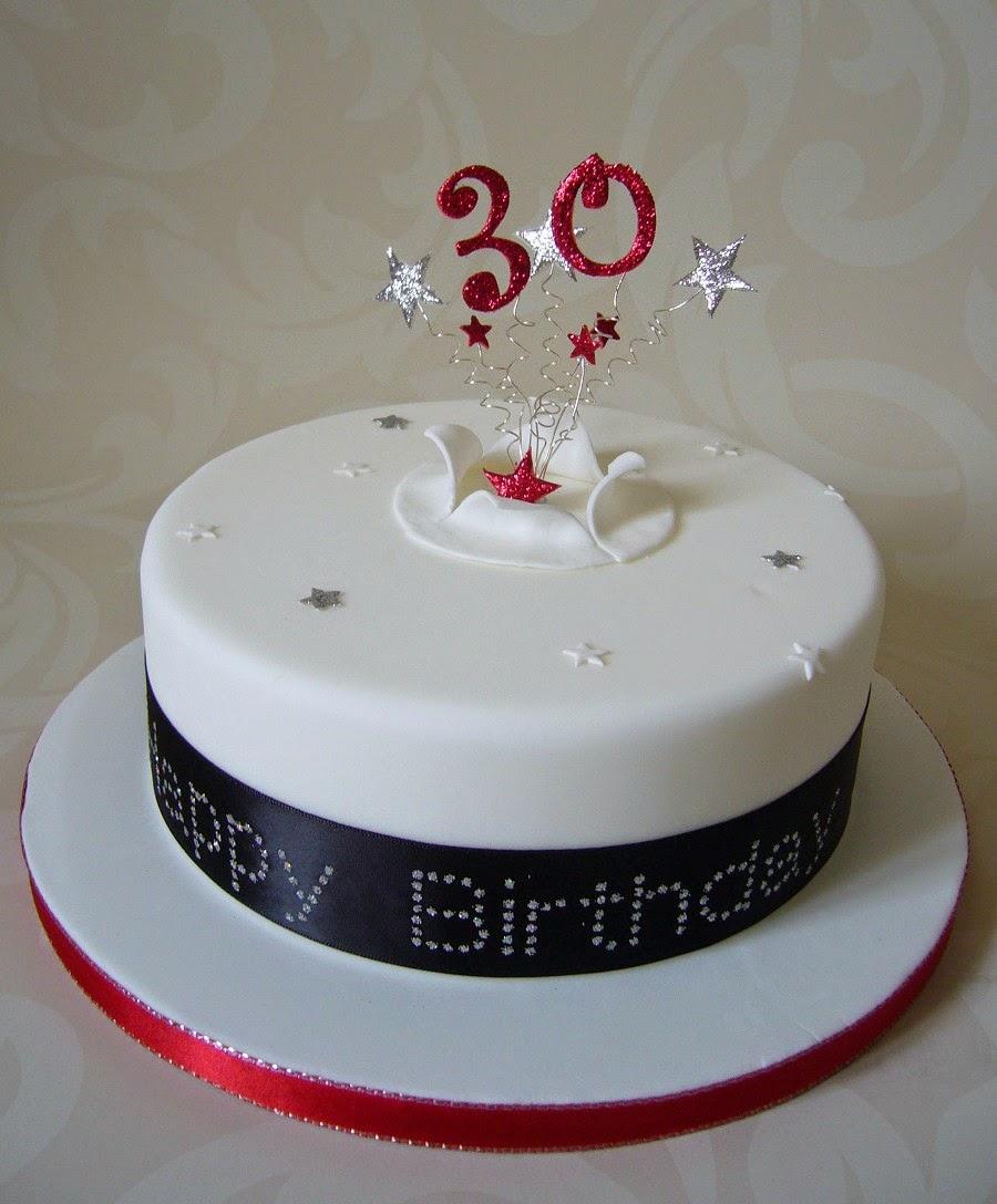 cake birthday: Round Birthday Cake