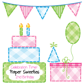 Paper Sweeties 2nd Birthday!