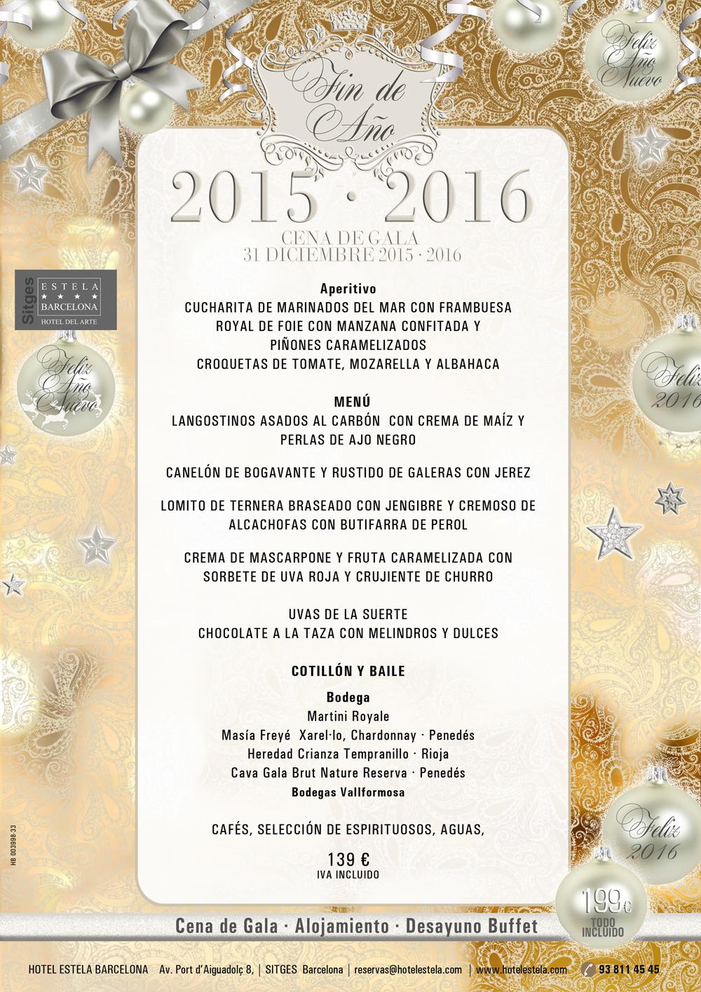 Cena de gala fin de a o 2015 2016 en el restaurante iris - Restaurantes para fin de ano ...