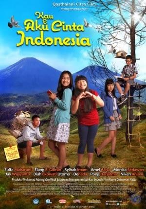 Film Kau & Aku Cinta Indonesia 2014 di Bioskop