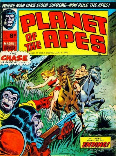 Marvel UK, Planet of the Apes #11