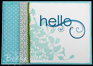 My Friend Hello Card