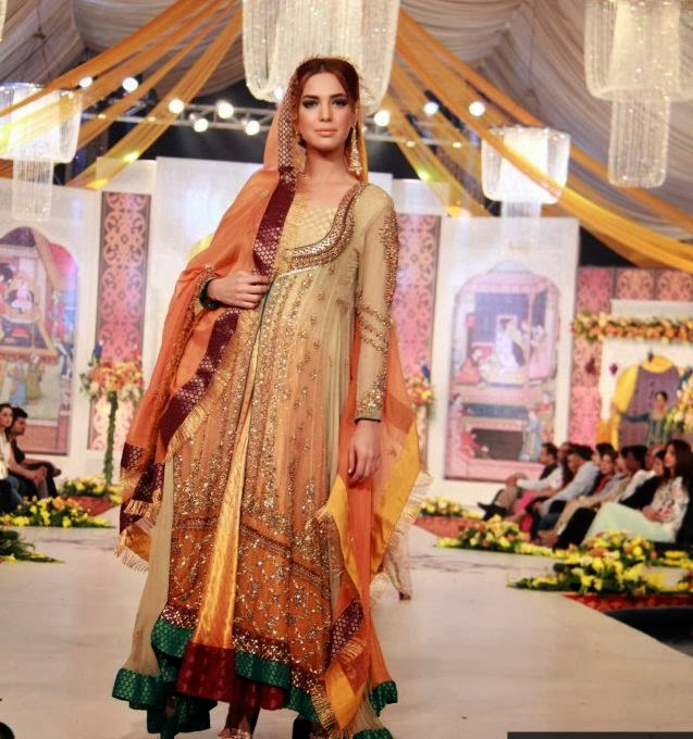 New Fashion Bridal Dresses Pakistani