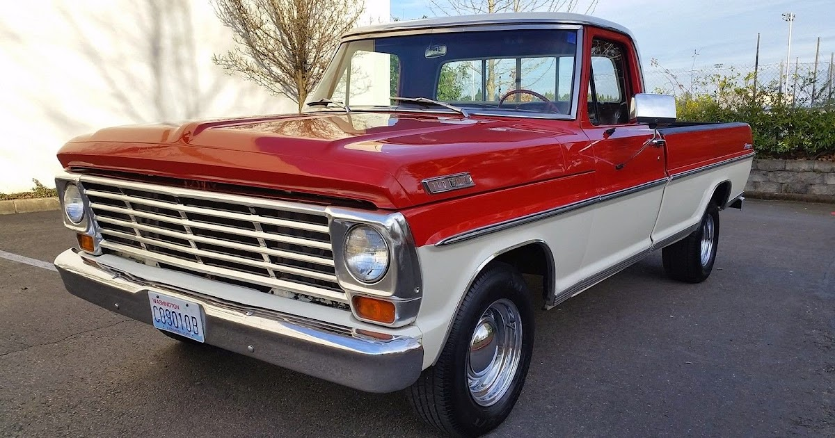 All American Classic Cars 1967 Ford F100 Pickup Truck