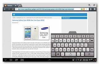 Review keyborad - Samsung Galaxy Note 10.1
