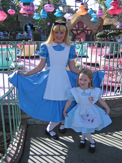 Alice in wonderland crying