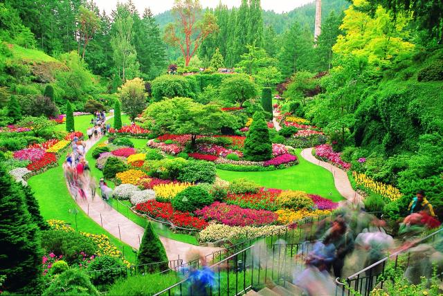 Lucy pinder pose colorful butchart garden victoria canada photos colorful butchart garden victoria canada photos thecheapjerseys Images
