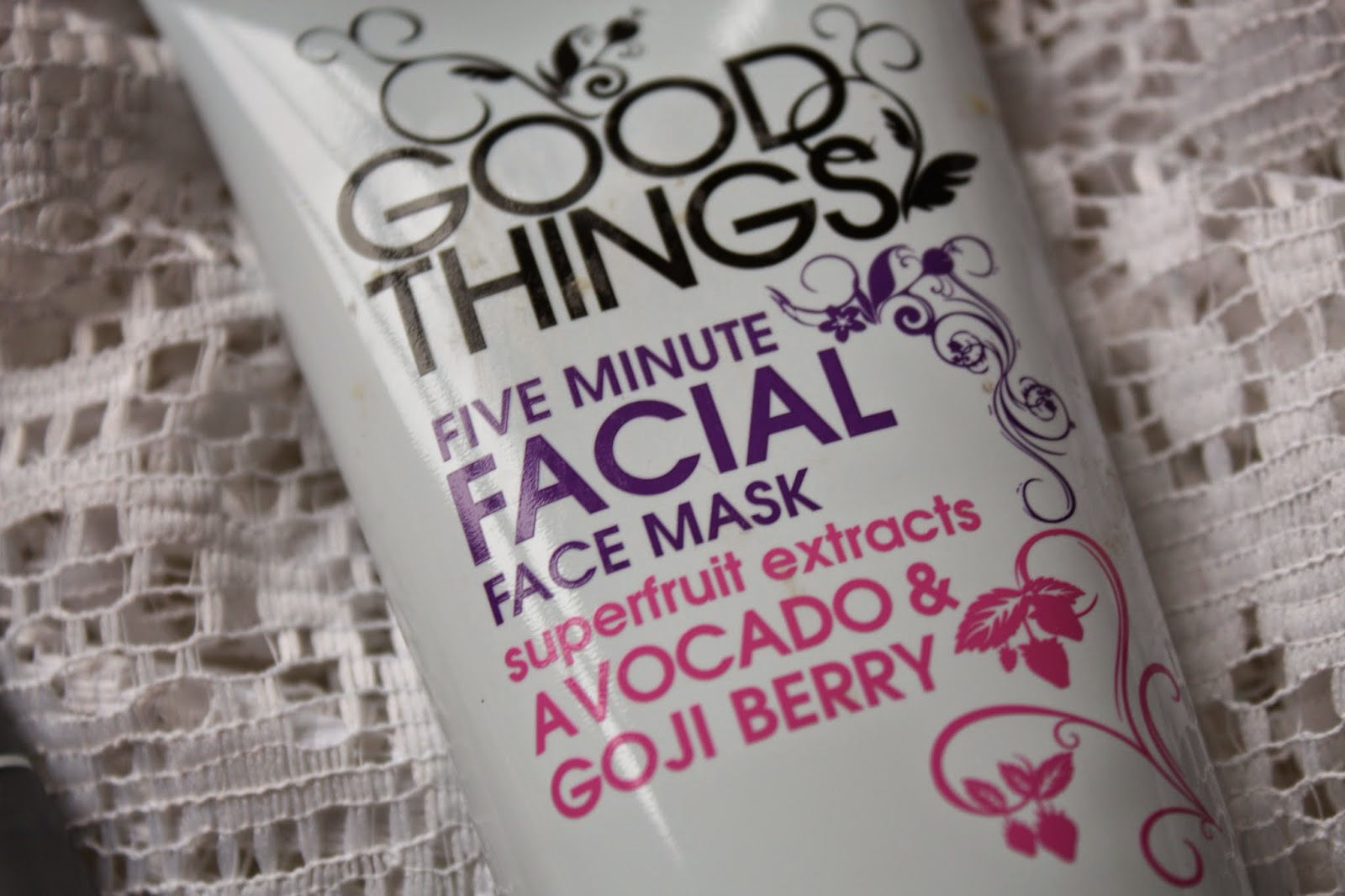 Good Things Five Minute Facial