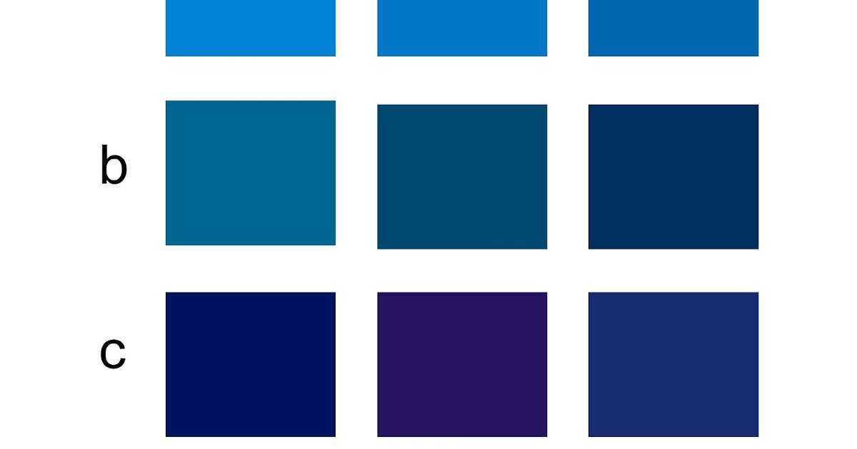variasi warna biru cmyk stiker l kaos l stiker segel