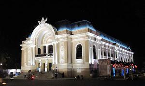 Teatro de la Opera en  Saigón