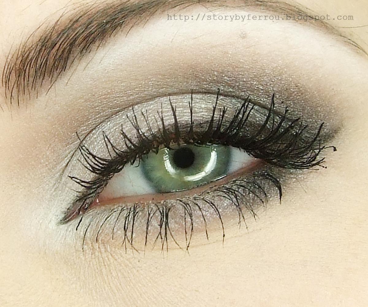 Ferrou Makeup Blog Makijaż Kosmetyki Shadows Of Gray Makijaż