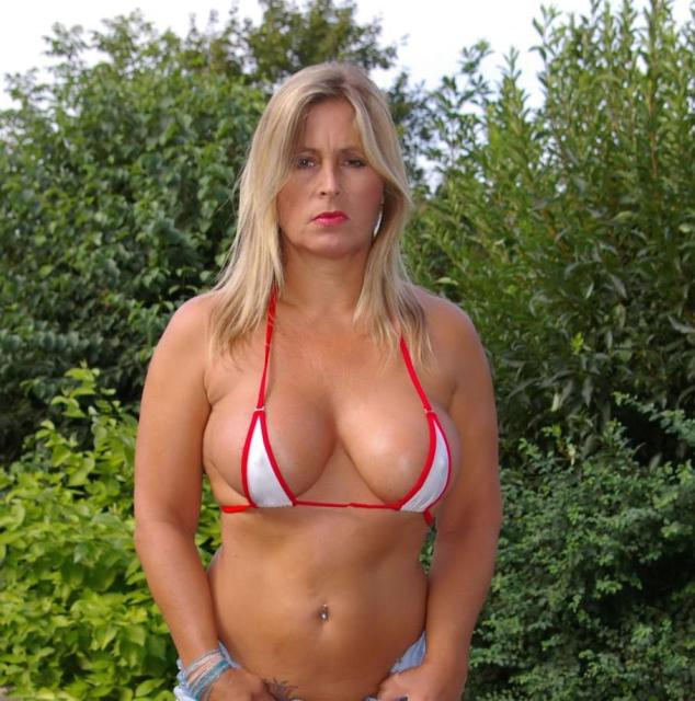 Countries mature bikini big boobs
