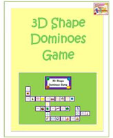 3D Shape card games