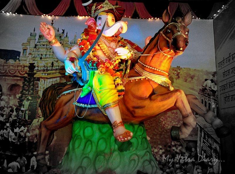 Superhero Ganesha, Ganesh pandal hopping, Mumbai