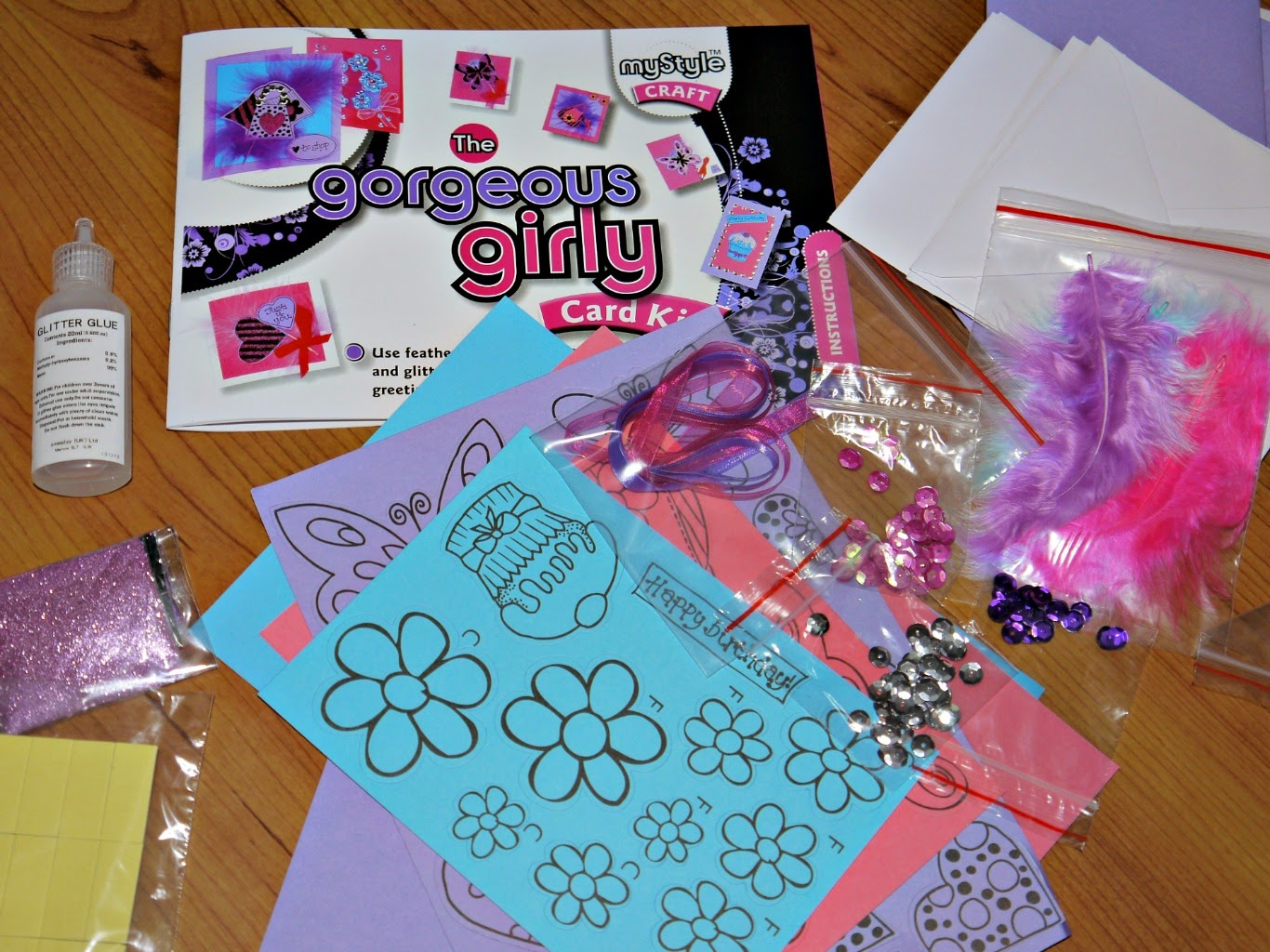 card making, crafts