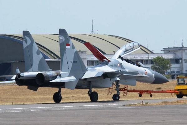 Sukhoi Su-30MK2 TNI-AU. PROKIMAL ONLINE Kotabumi Lampung Utara