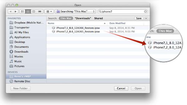 iOS 8.0 restore iPhone 6 (2)