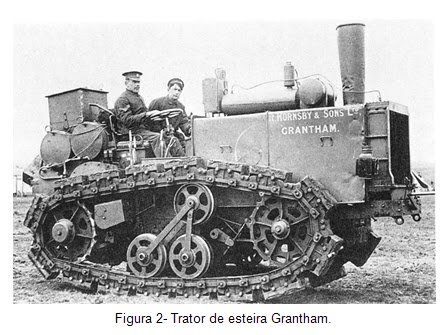 Trator de esteira Grantham