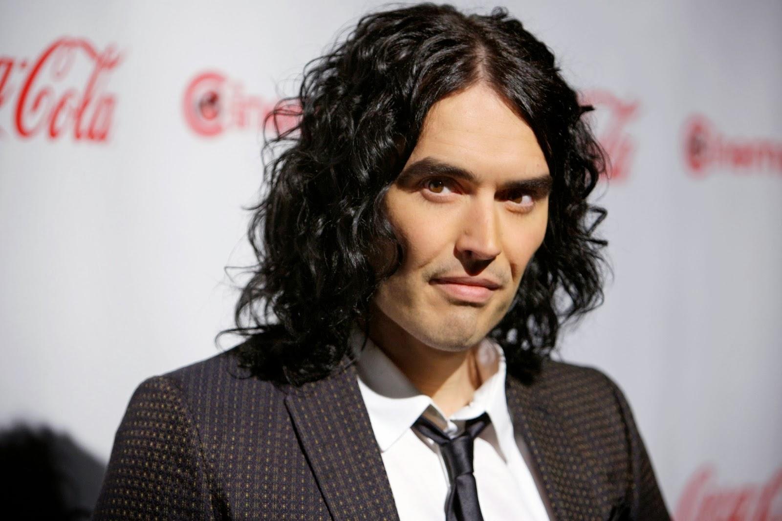 russell brand british comedian actor gossip styles