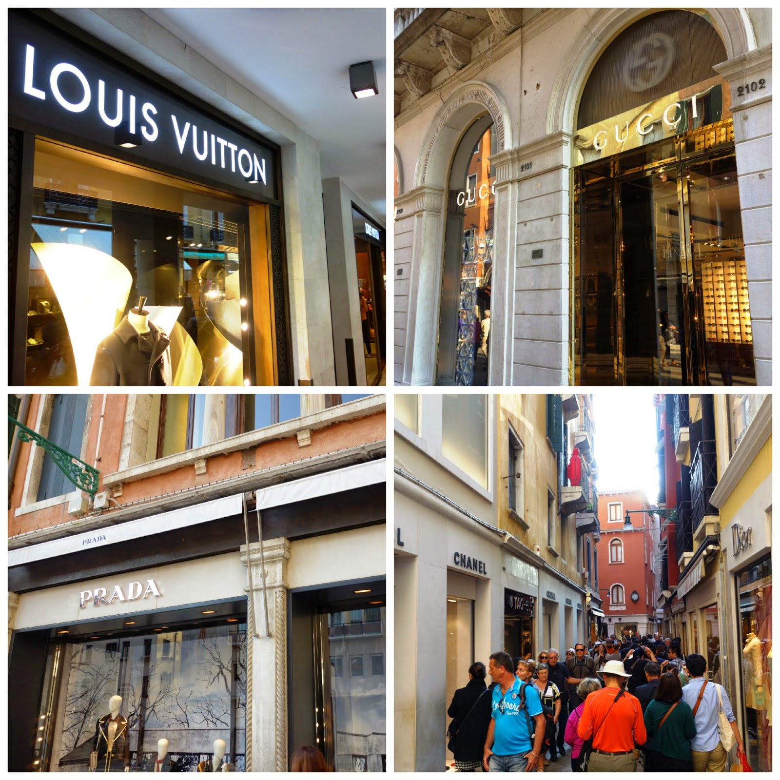 Image result for shopping in venice collage