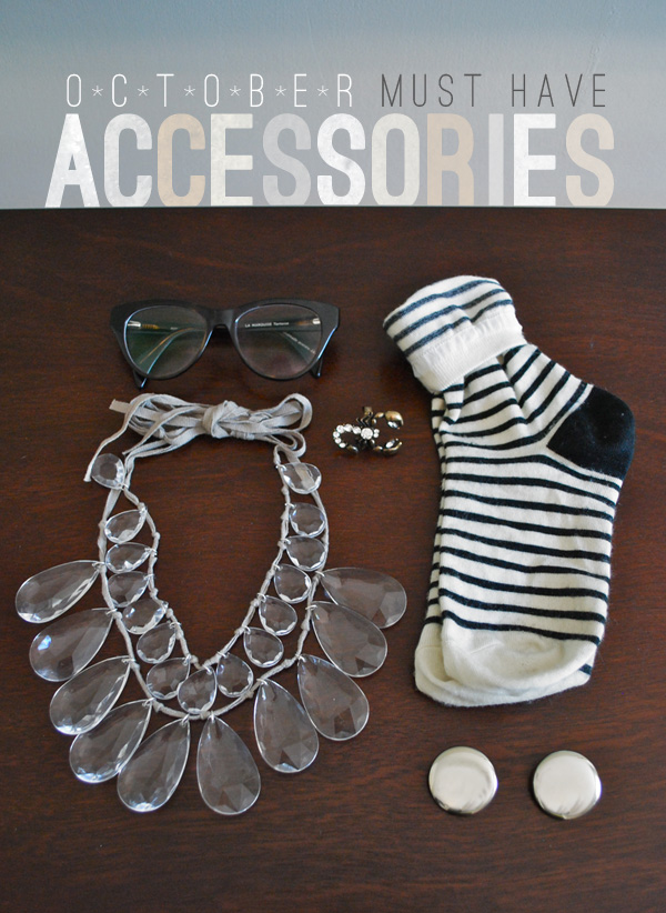Oversized and Bold Accessories