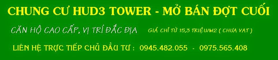 CHUNG CƯ HUD3 - TOWER