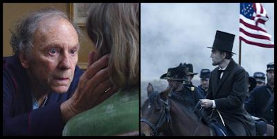 Amor, de Michael Haneke y Lincoln, de Steven Spielberg