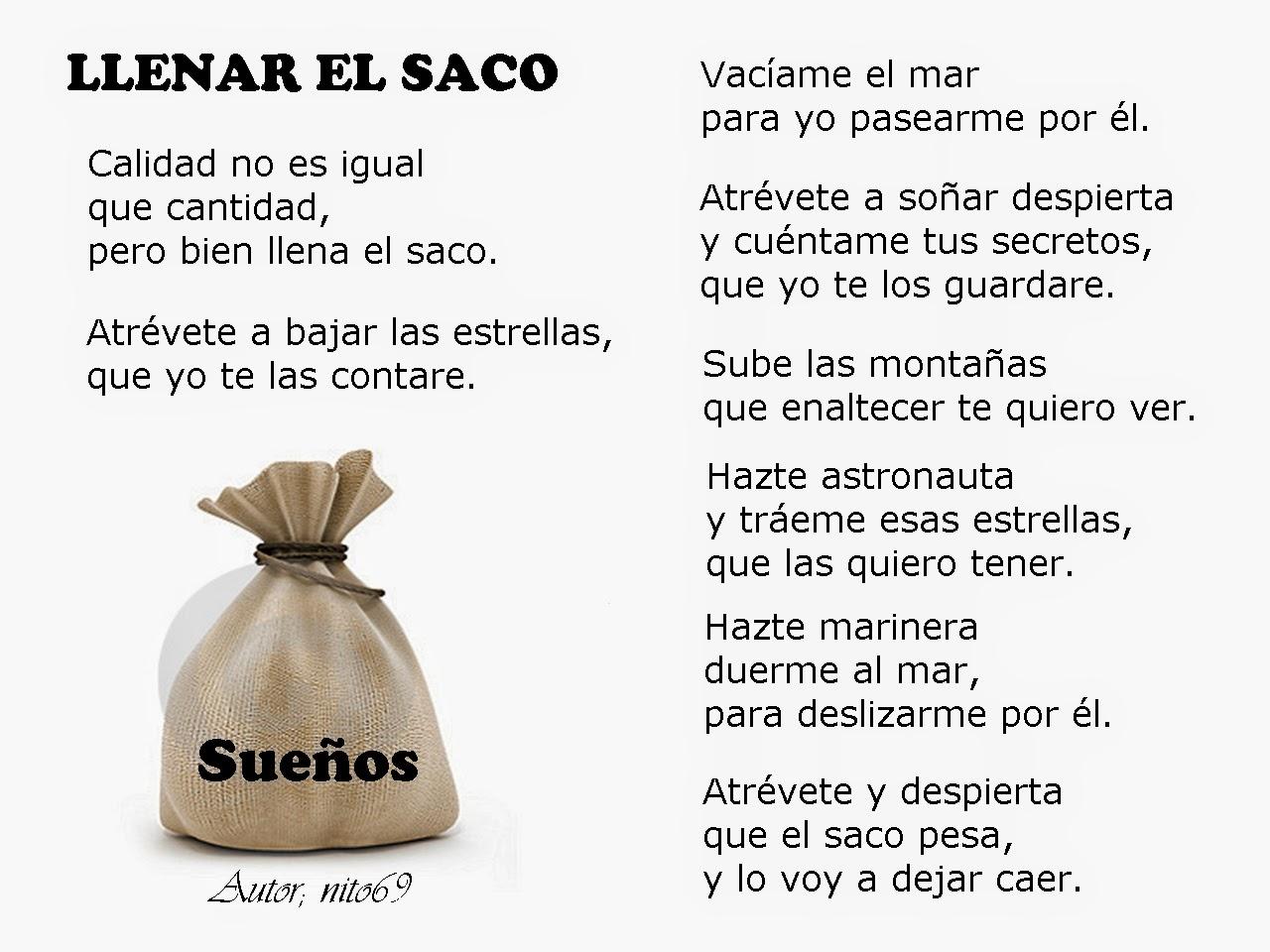 LLENAR EL SACO