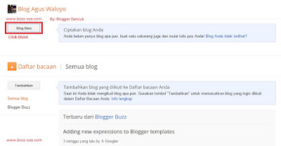 langkah pembuatan blog dengan blogger
