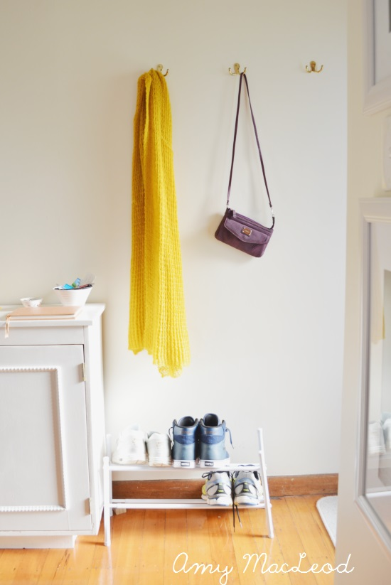 Making your home work FOR you: easy entryway organization
