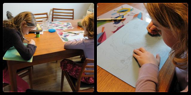 kids making maps