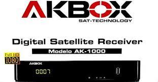 Atualizacao do receptor Akbox AK-1000 v005
