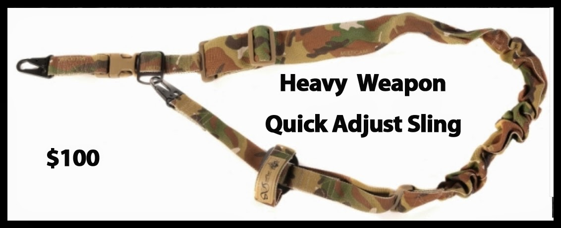 Heavy Weapon Quick Adjust Sling
