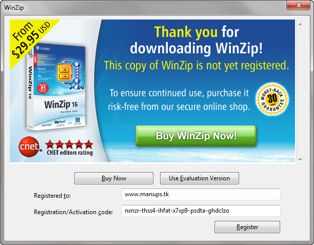 winzip software free download with key