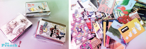 coleções malucas - esquisitas - pop cards diferentes