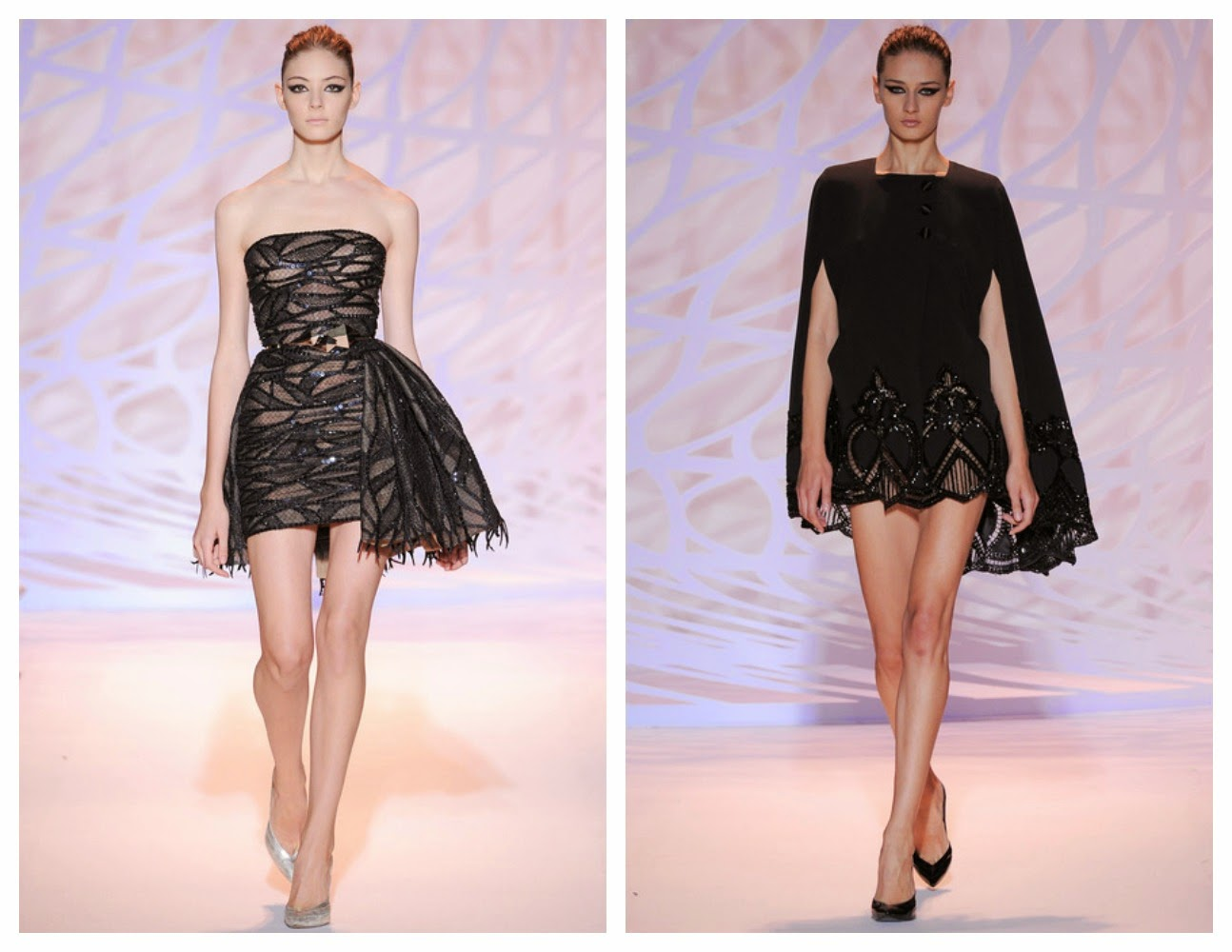 Short Cocktail Dresses Fall 2014 Haute Couture Fall Winter