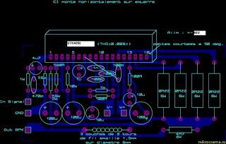 Stk on Subwoofer Amplifier Circuit Diagram