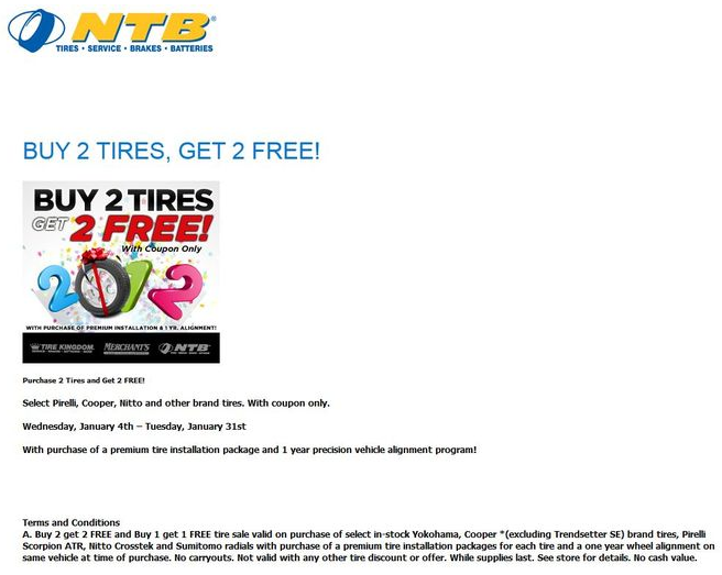 Ntb coupons codes