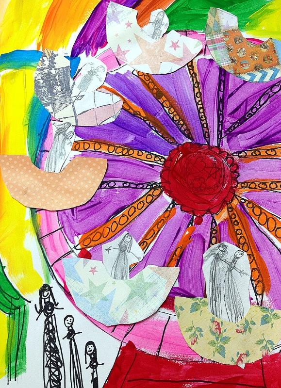 Artfully Me Ferris Wheel Art Project For Kids
