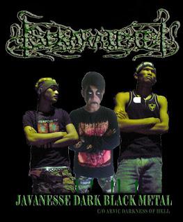 Sekarat Pati band Javanesse melodic Black Metal Tuban jawa timur Indonesia Foto Personil Logo Artwork Cover Wallpaper