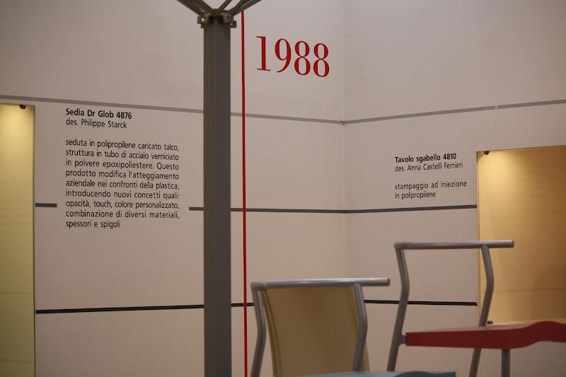 Ilaria ceriani kartell il museo della storica azienda di design