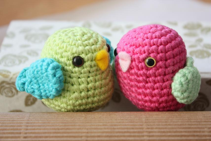 Amigurumi Crochet Bird Patterns : Happyamigurumi: Amigurumi birds