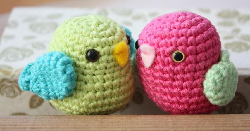 Amigurumi creations by Happyamigurumi: Amigurumi birds