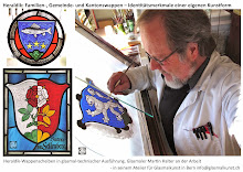 Glasmaler Martin Louis Halter Bern