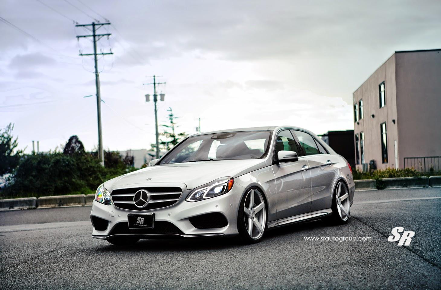 Mercedes benz w212 e550 on vossen wheels benztuning for Mercedes benz rims