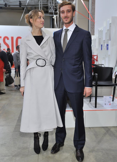 Beatrice And Pierre Casiraghi Attended The 'Love Design' Event