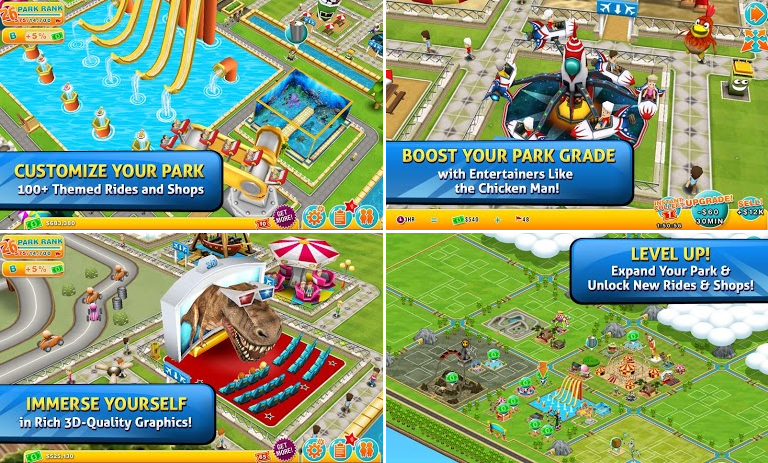 Theme Park Ride for Android