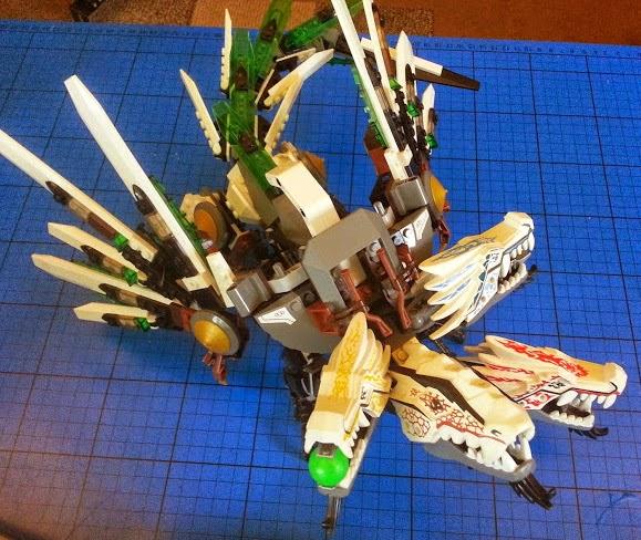 LEGO 4 headed Ultra Dragon set 9450